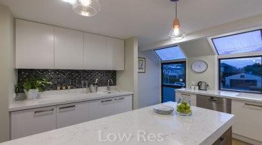St Heliers III - countertop   cuisine classique countertop, cuisine classique, interior design, kitchen, property, real estate, room, gray