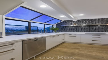 St Heliers III - ceiling   countertop   ceiling, countertop, daylighting, estate, interior design, kitchen, property, real estate, room, window, gray