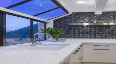 St Heliers III - architecture   ceiling   architecture, ceiling, countertop, daylighting, estate, glass, home, interior design, property, real estate, window, gray, blue