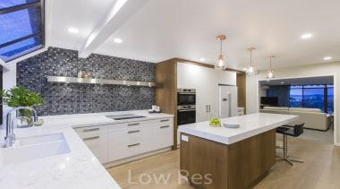 St Heliers III - countertop   interior design countertop, interior design, kitchen, real estate, gray