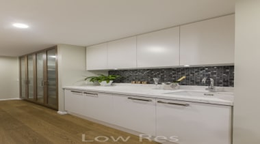 St Heliers III - cabinetry   countertop   cabinetry, countertop, interior design, kitchen, property, real estate, room, gray