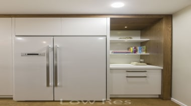 St Heliers III - cabinetry   home appliance cabinetry, home appliance, kitchen, kitchen appliance, major appliance, product, refrigerator, gray