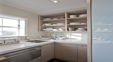 Remuera - cabinetry   countertop   cuisine classique cabinetry, countertop, cuisine classique, home, home appliance, interior design, kitchen, real estate, room, gray