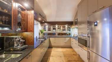 Mission Bay - cabinetry | countertop | cuisine cabinetry, countertop, cuisine classique, estate, interior design, kitchen, real estate, brown, gray