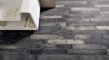 Bricklane Nero 101x614 - black and white | black and white, brick, floor, flooring, tile, wall, gray, black
