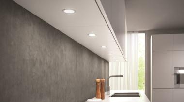 DOMUS LINE Atom 24Vdc SpotlightAtom 24Vdc spotlight - architecture, ceiling, daylighting, floor, interior design, light, light fixture, lighting, wall, gray