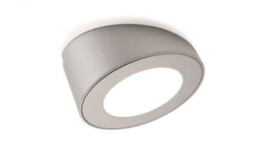 DOMUS LINE Atom 24Vdc Spotlight with Angled SpacerAngled lighting, white
