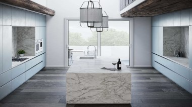 Dekton Kitchen – Portum Velvet - architecture | architecture, beige, black-and-white, building, ceiling, floor, flooring, furniture, home, house, interior design, material property, property, room, tile, wall, white, gray, white