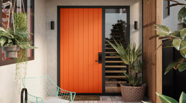 Add character and charm with a modern tongue curtain, door, home, interior design, real estate, shade, window, window blind, window covering, window treatment, wood