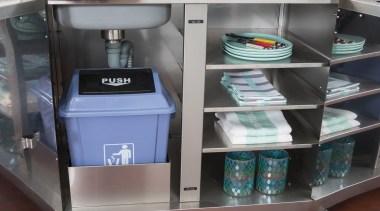 Gasmate Luxury Outdoor Kitchens - product | shelf product, shelf, shelving, gray, black