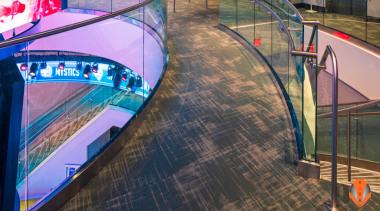 Architectural Bent Glass - NBA Disneyland Orlando - black