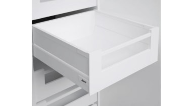 The 'S' drawer models have a drawer side angle, chest of drawers, drawer, furniture, product, white