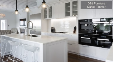 Highly Commended – Dbj Furniture Daniel Timmer – cabinetry, countertop, cuisine classique, interior design, kitchen, real estate, white, gray