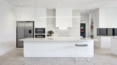 Highly Commended – Lsa Architects - cabinetry | cabinetry, countertop, cuisine classique, floor, interior design, kitchen, gray, white