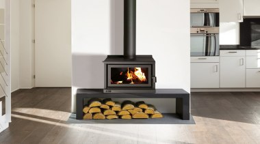 Indoor Outdoor Wood Fires - fireplace | floor fireplace, floor, flooring, hearth, heat, home appliance, stove, wood burning stove, white