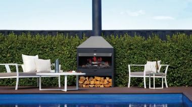 Indoor Outdoor Wood Fires - furniture | outdoor furniture, outdoor furniture, outdoor structure, table, white