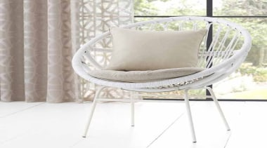 Jali 5 - bed frame   chair   bed frame, chair, cushion, furniture, product, white