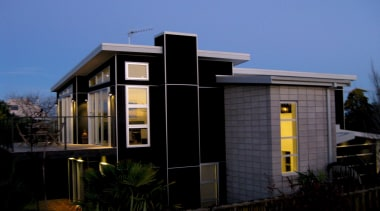 Keep Your Project Cooler - architecture | building architecture, building, facade, home, house, real estate, residential area, roof, siding, sky, black, blue