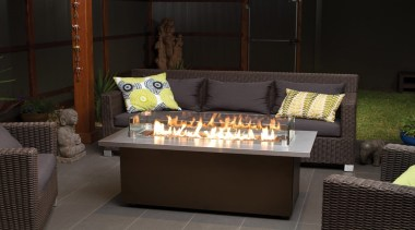 Outdoor Gas Fires - furniture | home | furniture, home, table, black