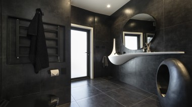 Celia Visser Design – Runner-up – TIDA New architecture, bathroom, interior design, room, black