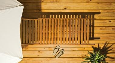 Resene Furniture And Decking Oil - baluster | baluster, wood, wood stain, orange, brown