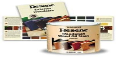 Resene Woodsman Exterior Wood Stains - product | product, white