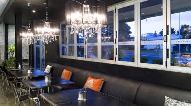 Durable and visually effective Resene paints were chosen interior design, window, black
