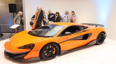 McLaren - auto show | automotive design | auto show, automotive design, car, land vehicle, mclaren automotive, mclaren mp4-12c, mclaren p1, performance car, sports car, supercar, vehicle, white