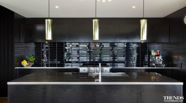 Tida Highly Commended – Ponting Fitzgerald - countertop countertop, interior design, kitchen, black, gray
