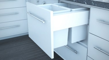 Simplex Plus pull out waste bin options with angle, bathroom, bathroom accessory, bathroom cabinet, bathroom sink, chest of drawers, drawer, floor, furniture, plumbing fixture, product, sink, tap, white