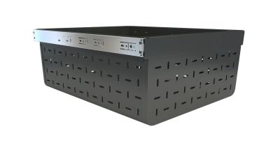 Tanova Ventilated Drawer 450Mm Cab 500Mm Deep 229Mm box, furniture, white