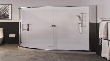 Choose from our classic range of distinctive TOTO angle, door, plumbing fixture, shower, shower door, gray