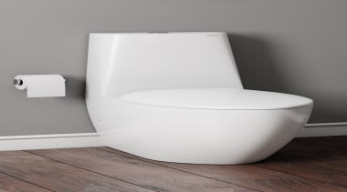 • 10 year warranty• Italian designer Francesco Lucchese• angle, bathroom sink, bidet, ceramic, chair, plumbing fixture, product, tap, toilet, toilet seat, gray, white
