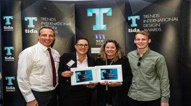 2019 TIDA New Zealand Homes presentation evening award, event, job, product, technology, black