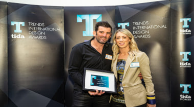 2019 TIDA New Zealand Homes presentation evening electronic device, event, product, technology, yellow, black
