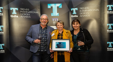 2019 TIDA New Zealand Homes presentation evening award, event, technology, yellow, black