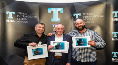 2019 TIDA New Zealand Homes presentation evening award, design, electronic device, event, media, technology, black