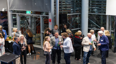 2019 TIDA New Zealand Homes presentation evening architecture, city, crowd, event, metropolitan area, people, tourism, black, gray