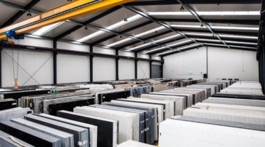 Universal Granite And Marbles Warehouse 2 - factory factory, white, black