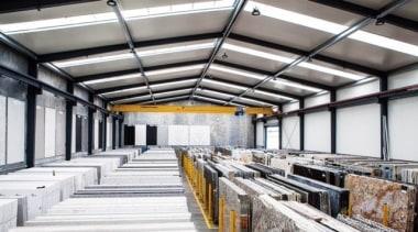 Universal Granite And Marbles Warehouse 4 - daylighting daylighting, structure, white, gray
