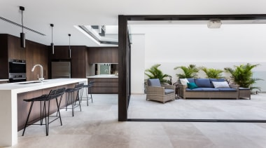 Arc Seven 1 – Highly Commended – 2018 floor, flooring, interior design, living room, white, gray