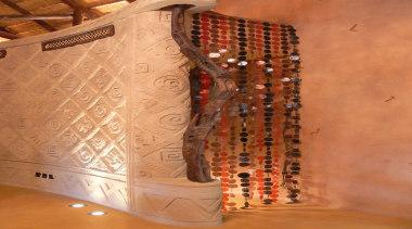 Decocrete 5 - Decocrete_5 - textile   wood textile, wood, orange