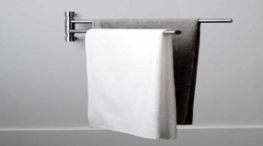 PB450 - Swivel Towel Bar. Satin Stainless Steel plumbing fixture, product design, tap, gray