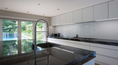 IMGL0237-14 - Dingle Road - architecture | countertop architecture, countertop, daylighting, house, interior design, kitchen, property, real estate, room, window, gray