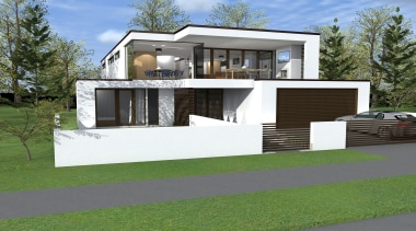 20 sidmouth road concept   hsuntitled path1 architecture, building, elevation, facade, home, house, luxury vehicle, property, real estate, residential area, siding