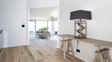 Wooden accessory table - Accessory - floor   floor, flooring, furniture, hardwood, home, house, interior design, laminate flooring, product design, real estate, room, wood, wood flooring, white