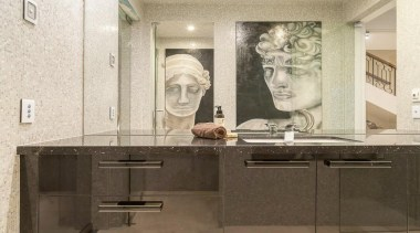 Winner Bathroom Design of the Year 2013 Victoria bathroom, countertop, floor, interior design, property, room, tile, wall, white