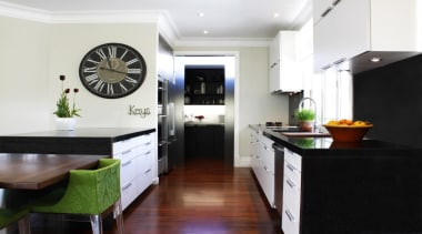 Brooklyn Kitchen - Brooklyn Kitchen - cabinetry   cabinetry, countertop, home, interior design, kitchen, real estate, room, white, black