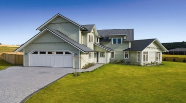 Signature Homes CorrugateC - Signature Homes CorrugateC - cottage, elevation, estate, facade, farmhouse, grass, home, house, land lot, lawn, property, real estate, residential area, roof, siding, suburb, window, yard, gray, brown