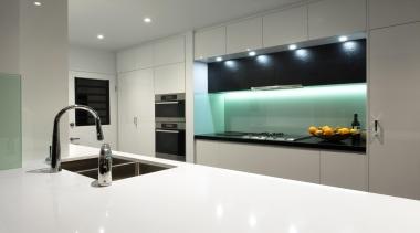 Winner Kitchen Design & Kitchen of the Year countertop, floor, flooring, interior design, kitchen, product design, room, gray, white
